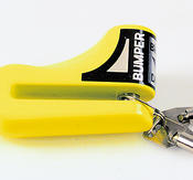 Disc lås, fluorescerande gul